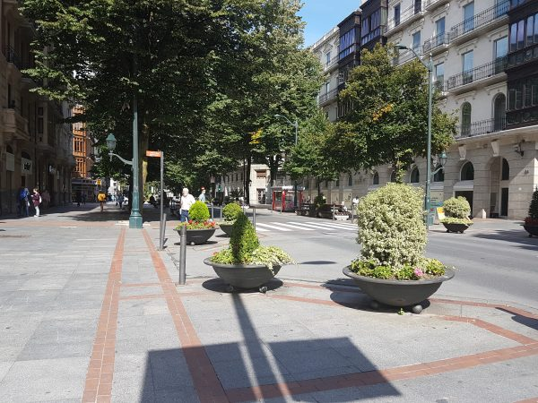 Peatonalización de la c/ Gran Vía y la c/ Ercilla