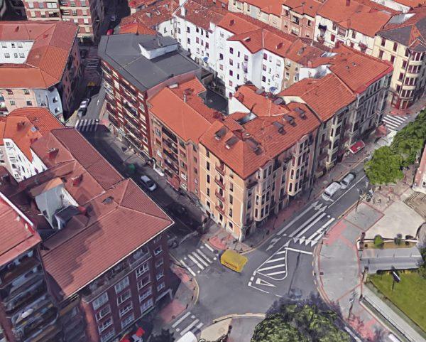 Obras de peatonalización del la calle Asunción Menendez y aceras adyacentes