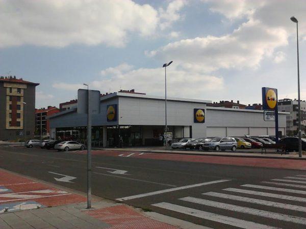 Obra civil para la obra de Lidl Supermercado nº495 en Miranda de Ebro
