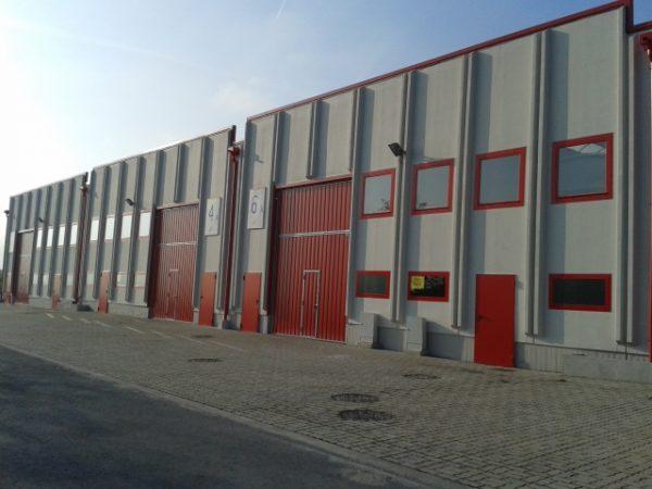 Obras de rehabilitación de los pabellones A-2, A-4, A-8, A-10, A-12, A-14, A-16 Y A-18, del Polígono Industrial de El Campillo en Abanto y Zierbena