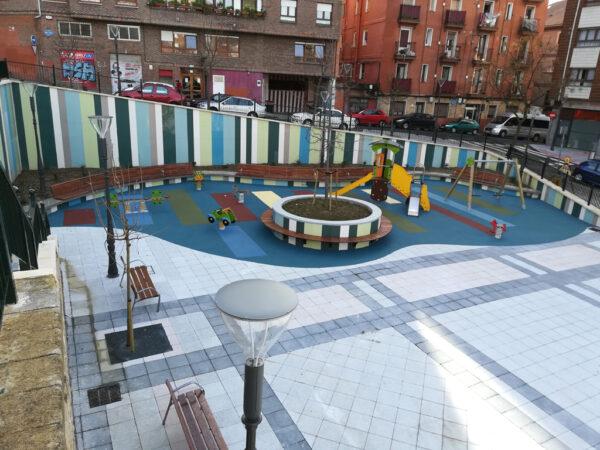 Remodelación de la plaza Jesús Insausti «Uzturre» en Bilbao