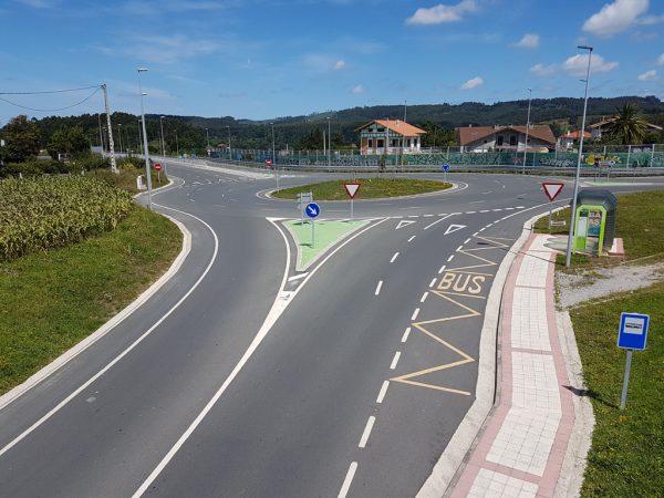 Proyecto de construcción de la variante de la carretera BI-2731, entre el P.K. 14.80 y el P.K. 16.00 en el entorno de la UPV de Leioa