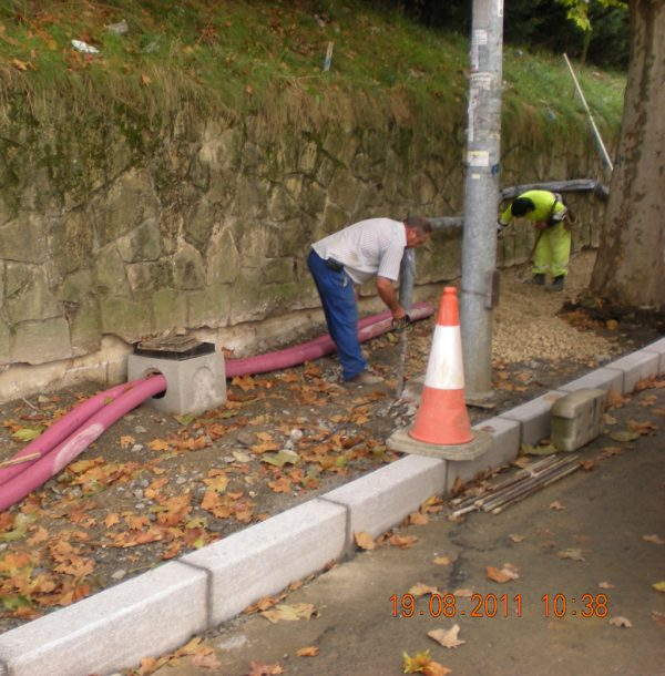 BAIS. Servicio relativo a la ejecución de obras de mantenimiento, conservación, reparación y mejora de aceras, viales, plazas y espacios peatonales de la vía pública pretenecientes al ayuntamiento de Leioa