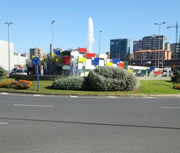 Construcción de fuente cibernética y obras complementarias de la Avenida Euskadi – Ronda de circunvalación en Barakaldo