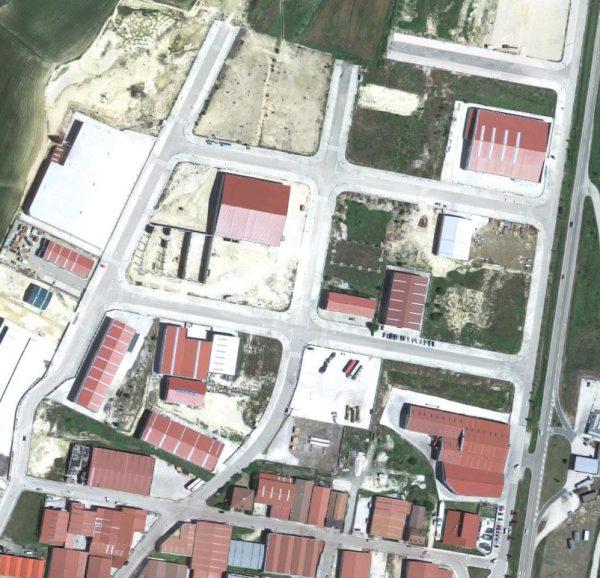Urbanización del Polígono Industrial Las Navas IV, en Medina de Pomar