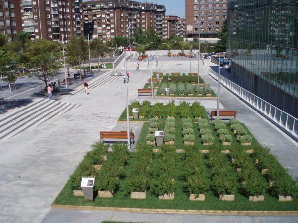 Obras de Urbanización de la Plaza de Ibarrekolanda (Conservatorio Sarriko)