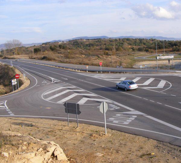 Seguridad vial, actuación en la T.C.A. CL-628 de Medina de Pomar a Villarcayo (P.k. 4+500-P.k. 5+750)