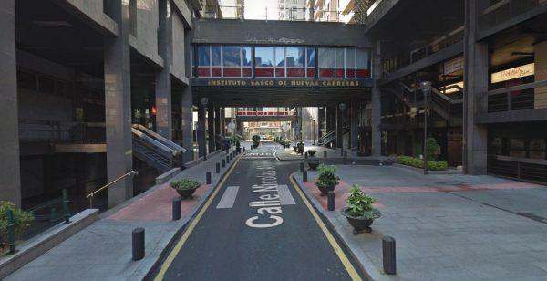 Urbanización de la calle Nikolas Alkorta en Bilbao