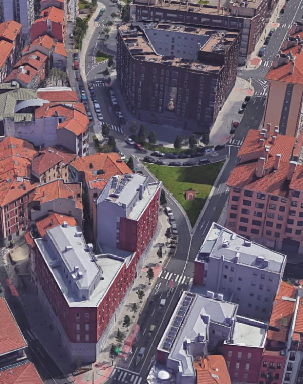"""Proyecto de Urbanización del Área de Reparto """"Miribilla-Bilbao La Vieja"""" del P.E.R.I. de Bilbao fases 2A, 2 y 3"""
