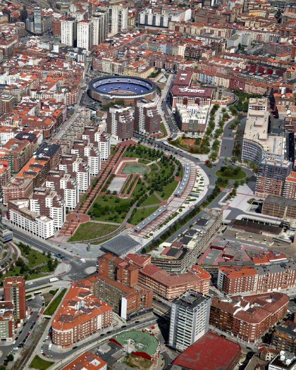 Obras de Urbanización del Parque de Amezola