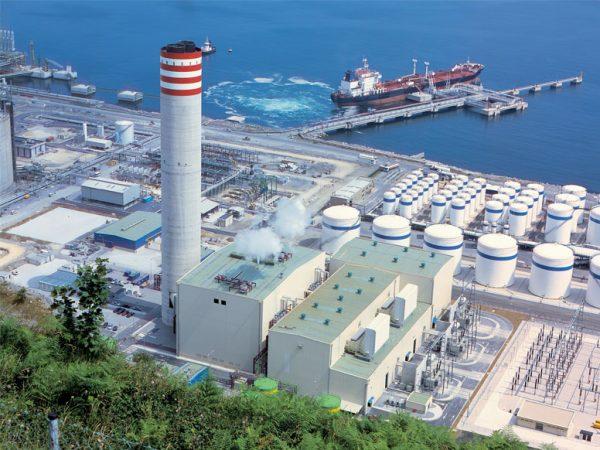 Obras civiles correspondientes a las calderas de recuperación hasta cota 0 en Bahia Bizkaia Electricidad