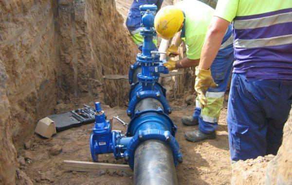 Construcción, Obra civil, Suministro y Montaje de la Tubería de Abastecimiento de Agua al Ciclo Combinado Bahia Electricidad, en Santurtzi