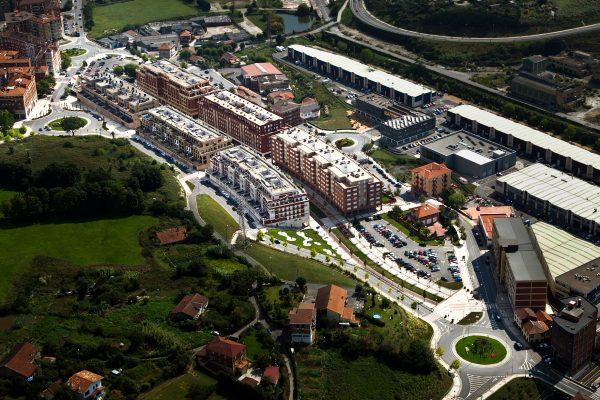 Proyecto de urbanización del Área 24C de Leioa