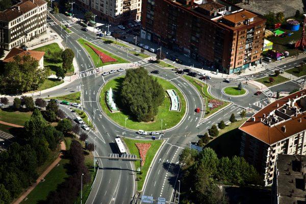 Obras de modificación de la mediana de Juan de Garay, y de ejecución de la elipse de Conexión