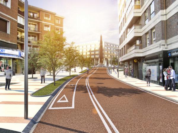 Reurbanización de la Avenida Sabino Arana de Leioa