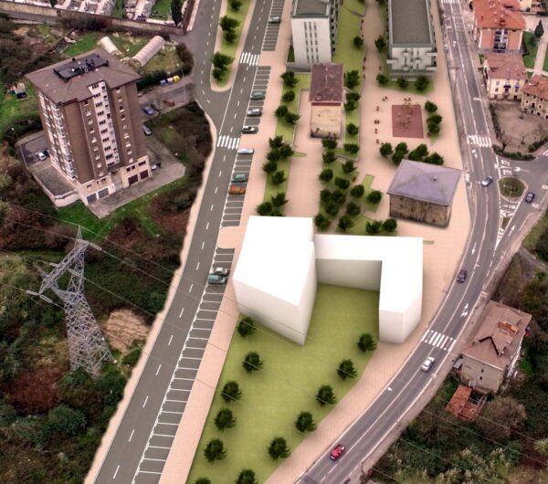 Urbanización del Sector SR-1-San Miguel Oeste de Basauri, fases IV, V y VI y demolición de la casa de los Maestros