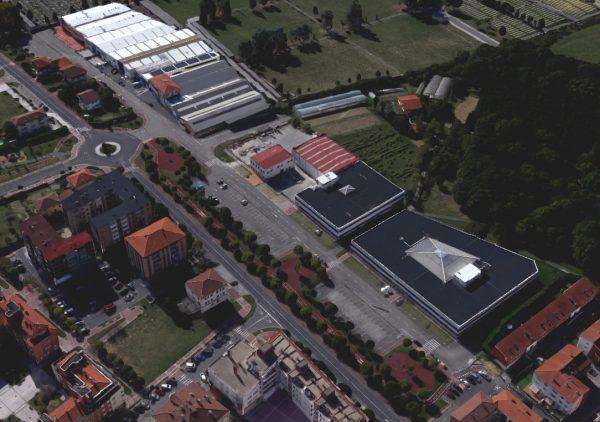 Urbanización para el ámbito Sector Txozna, 1ª Fase, del Suelo Urbanizable Industrialial en Derio