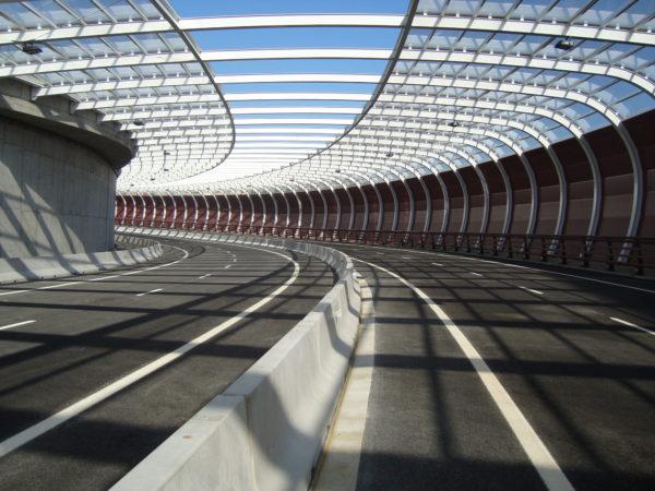 Infraestructura viaria de los accesos a Bilbao por San Mames