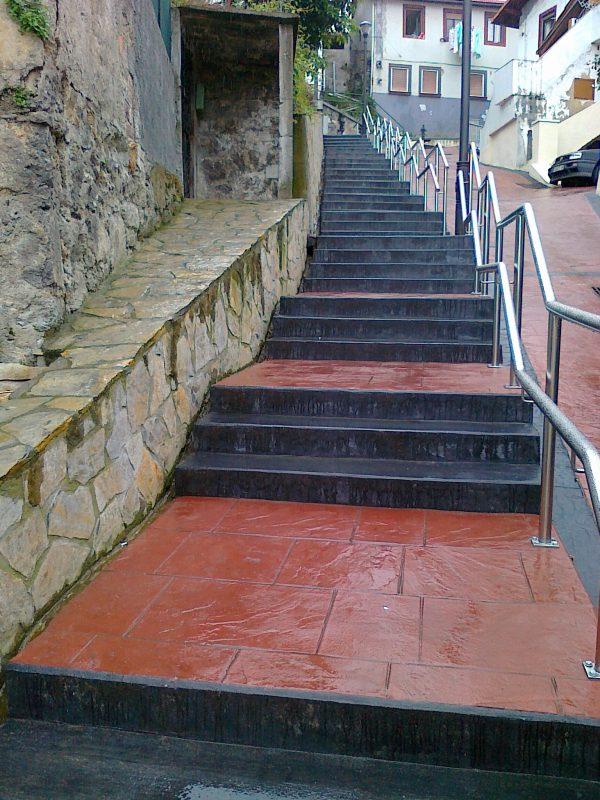 Renovación de la red de saneamiento del barrio de Masustegi en Bilbao