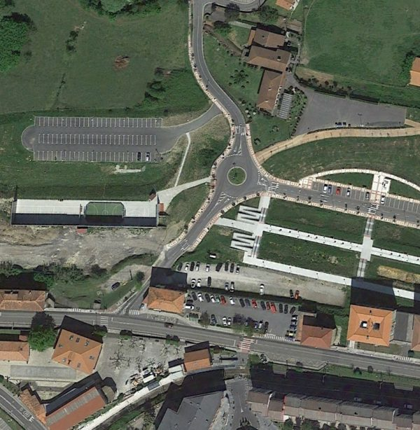Urbanización del Sector Residencial de Arteaga en Zamudio