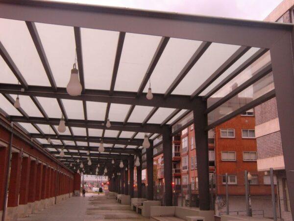 Proyecto de ampliación de la Stoa del Boulevard de Leioa