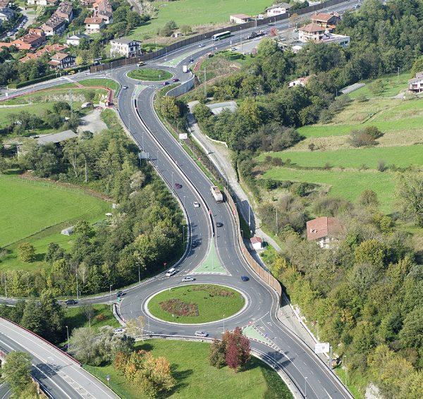Construcción del tramo Amorebieta-MuxiKa