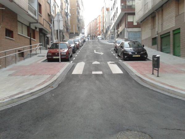 Urbanización de la calle Tomás Gandarias (Sestao)