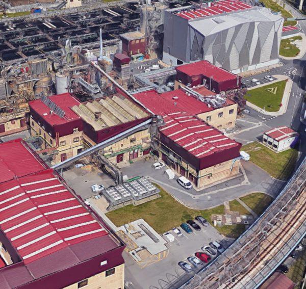 Obras de reforma del edificio industrial de EDAR Galindo (nuevos almacenes y talleres)