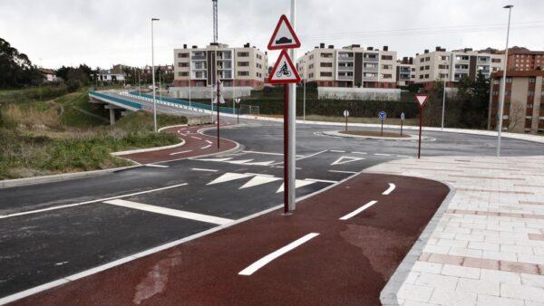 Urbanización del sector Larrakoetxe, Leioa Fase I