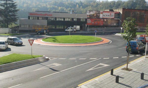 Construcción del proyecto de medidas de tranquilización del tráfico y transformación en vía urbana de la N-634 desde el P.k. 108+290 al P.k. 108+370, en Bolueta