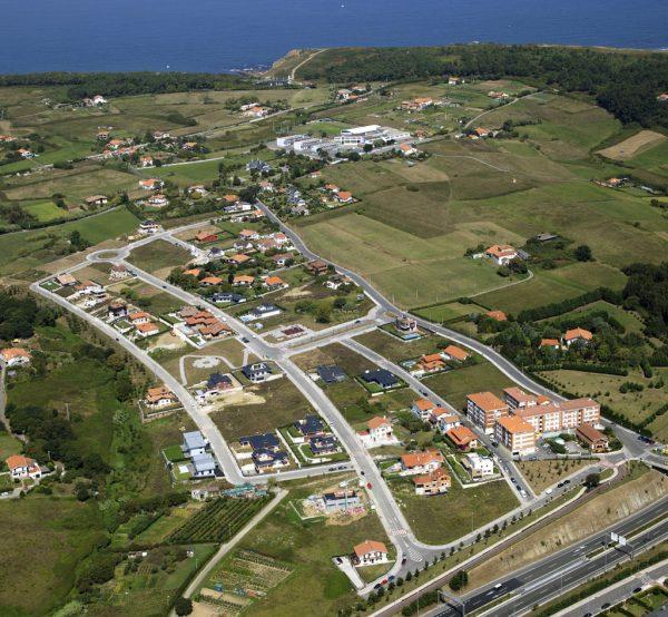 Proyecto de urbanización del Sector Residencial Kurtze, en Berango