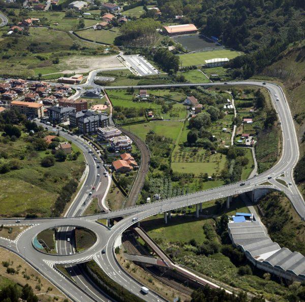 Construcción del corredor Uribe-Kosta. Tramo Mimenaga-Sopela