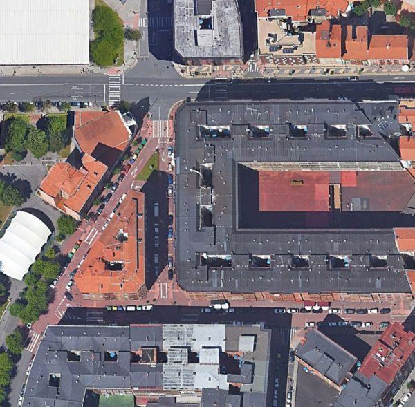 Urbanización del núcleo comercial de Zorroza (Bilbao)