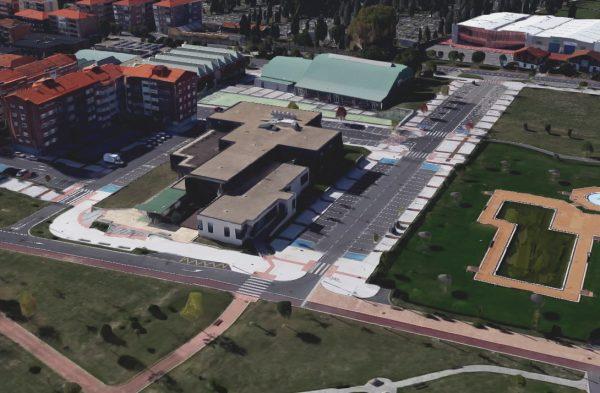Urbanización en barrio Arteaga, 3ª Fase, Almazene Kalea y Uribe Kalea en Derio