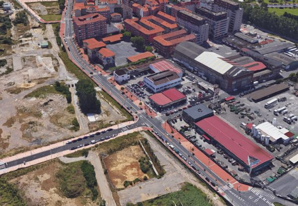 Renovación de Infraestructuras en el Barrio de Lutxana