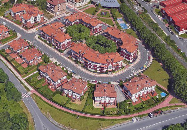 Urbanización del sector residencial Sapur-2 en Sondika