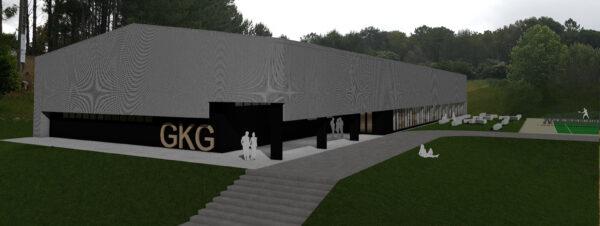 Construcción de un pabellón deportivo en el recinto deportivo de Urezarantza
