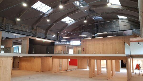 Proyecto de acondicionamiento para Centro Superior de Diseño