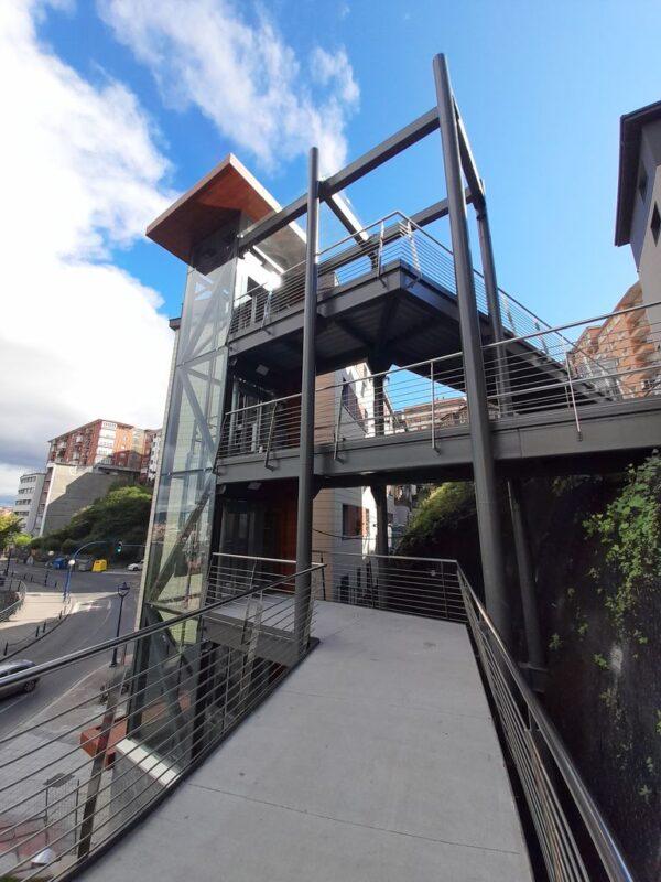 Mejora de la accesibilidad en la conexión de las calles Sotera de la Mier, Grupo Miramar y la Atalaya de Portugalete