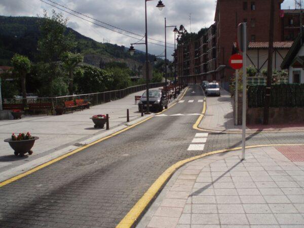 Proyecto ejecución de urbanización del Barrio de San Antolín en Alonsotegi