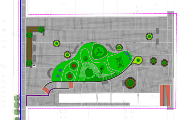 Urbanización de la Plaza Músico Arambarri