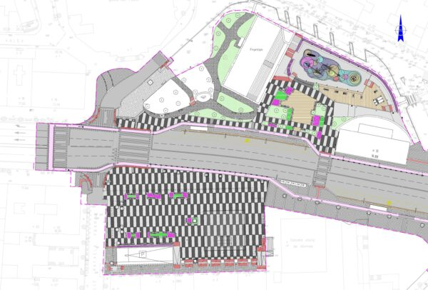 Urbanización de la Plaza de San Pedro