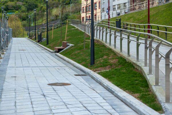 Urbanización de la calle El Carmen Fase-2 en Barakaldo